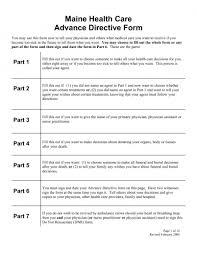 download maine liviing will form u2013 advance directive pdf