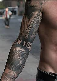 tattoo pictures of new york top 100 best sleeve tattoos for men cool designs and ideas