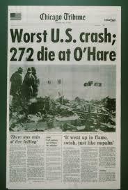 Chicago Tribune News Desk American Airlines Flight 191 Crash 1979 Newsroom History