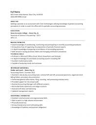 Entry Level Accounting Resume Examples by Adobe Resume Template