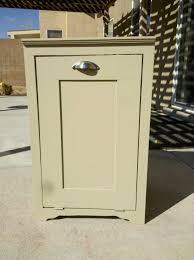 luxury kitchen trash cabinet home design