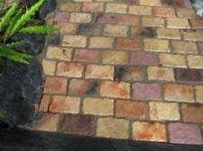 12 2 6x6 concrete castle stone molds make cobblestone patio paver