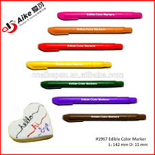 where to buy edible markers edible 8 assorted color marker pen for food decorating buy food