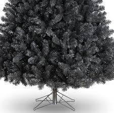 8ft black christmas tree christmas lights decoration