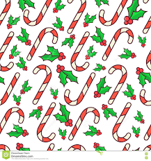 cheap christmas wrapping paper vector seamless pattern candy canes and berry christmas