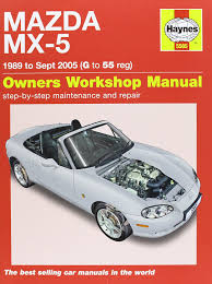 mazda mx 5 service and repair manual 1989 2005 haynes service