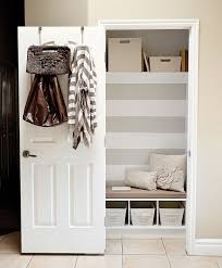 and reorganize your unused closet and think outside the box
