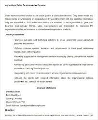 Example Of A Sales Resume by Sales Resume Template 24 Free Word Pdf Documents Download