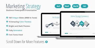 marketing strategy powerpoint presentation by veshi graphicriver