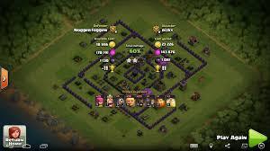 amazing clash of clans super mega cube maximized de protection base th8 post update anti