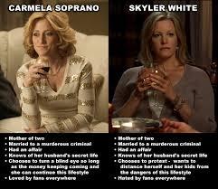 Skyler Meme - skyler and carmela breakingbad