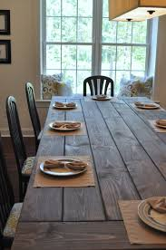 Plank Dining Room Table Farmhouse Table Remix How To Build A Farmhouse Table East