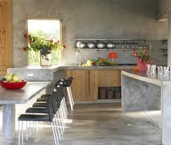 comptoir ciment cuisine photos 30 styles de cuisine maison et demeure