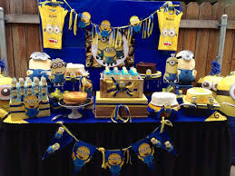 minion baby shower ideas minions baby shower party ideas photo 3 of 12 catch my party