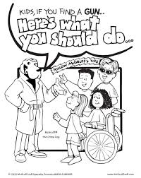mcgruff coloring page coloring home