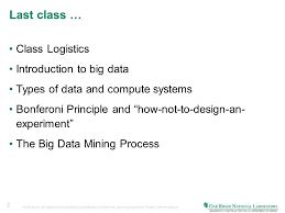 big data class introduction to mapreduce paradigm for data mining cosc 526 class
