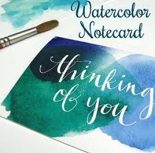 watercolor notecards stunning watercolor notecards 17 diy stationery projects that