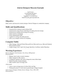 interior design resume exles interior design resume exles templates student sles designer