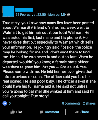 true story mans friend scares walmart hairdresser then seduces