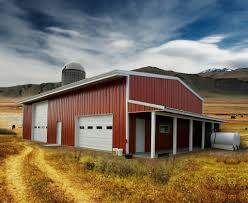 agricultural steel buildings farm equipment storage metal barns