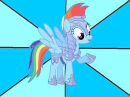 Rainbow Dash Meme - armored rainbow dash meme by snakeman1992 on deviantart