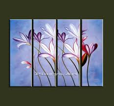 affordable modern wall art panel large cheap modern abstract wall art handmade white orchid