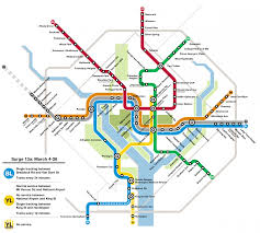 Blue Line Metro Map by Safetrack Will Hit The Blue And Yellow Lines Hard In 2017