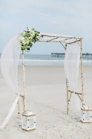 wedding arches diy coastal chic wedding in jacksonville floridian social
