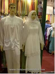 muslim and groom wediing abayas and wedding dress styles islamic