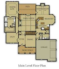 Main Level Floor Plans 4 Bedroom House Plan With Master Bedroom On Main Level