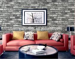 3d bars wallpapers 3d stone brick design pvc wallpapers for restaurant decoration