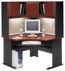 Cherry Computer Desk With Hutch Bush Series A 48