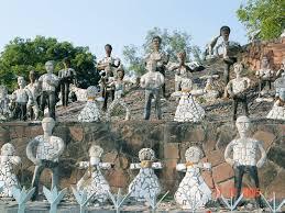 Nek Chand Rock Garden Nek Chand Saini Rock Garden Sculpture Installation