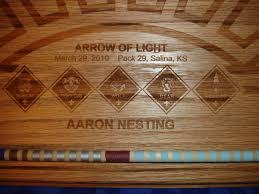 arrow of light award images arrow of light awards for pack 29 by drdirt lumberjocks com