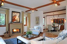 craftsman style home interiors living room ideas craftsman style living room contemporary