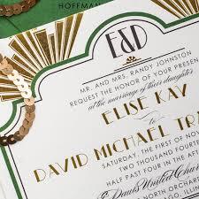 art deco wedding invitations too chic u0026 little shab design