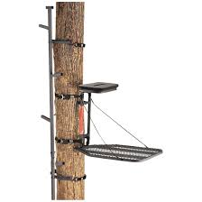 guide gear climbing stick and tree stand combo 160847 hang on