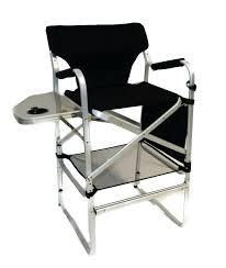 Quest Traveller Directors Chair And Side Table World Famous Sports Directors Chair With Folding Side Table