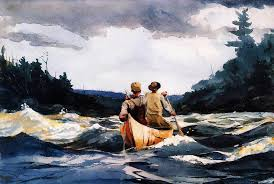 themed paintings american artist winslow homer some fishing and boating themed