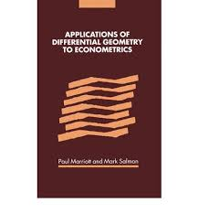 applications of differential geometry to econometrics paul