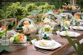 modern southern table party at the umstead a modern bridal shower weddings magazine