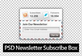 30 beautiful free newsletter subscribe box psd designs instantshift