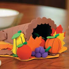 image detail for classified kid s craft cornucopia paper