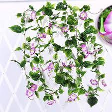 flower garland wedding decor flower daffodil artificial silk vine flower garland