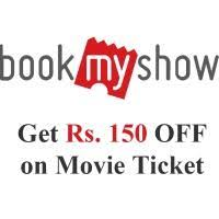 bookmyshow offer bookmyshow rs 150 off on movie tickets coupon bms150 offer for may