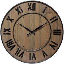 Wine Barrel Home Decor Wine Barrel Wall Clock By Infinity Instruments Home Decor Ideas