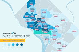 Metro Washington Dc Map by Where To Find The D C Metro Region U0027s Highest Rents Curbed Dc