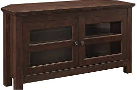 wood entertainment center corner tv stand stereo cabinet 44