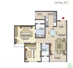 2 bhk apartments in prestige song of the south
