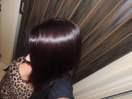 deep velvet violet hair dye african america review and demo of schwarzkopf color ultime hair color in 4 2